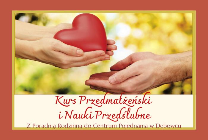 Kurs Przedmałżeński iNauki Przedślubne – kwiecień 2021 r.