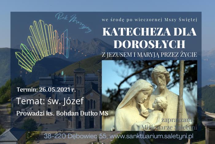 KATECHEZA ŚRODOWA – 26.05.2021 r.