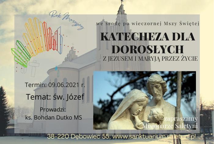 KATECHEZA ŚRODOWA – 16.06.2021 r.