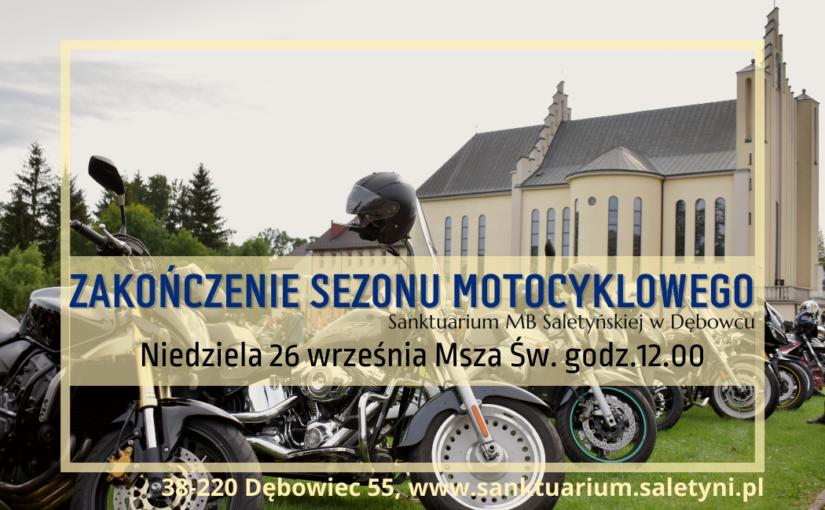 Zakończenie sezonu motocyklowego.